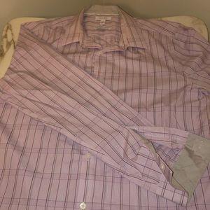 Calvin Klein long sleeve button down men's shirt